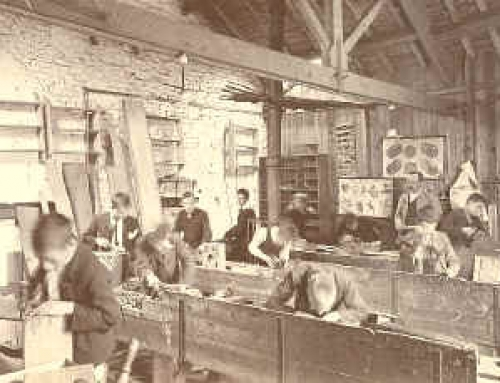 Boys workshop c.1903