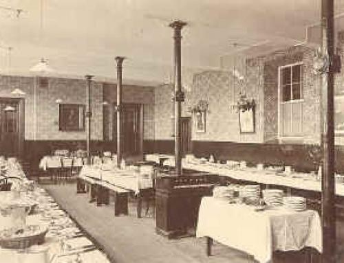 Dining hall – 1903