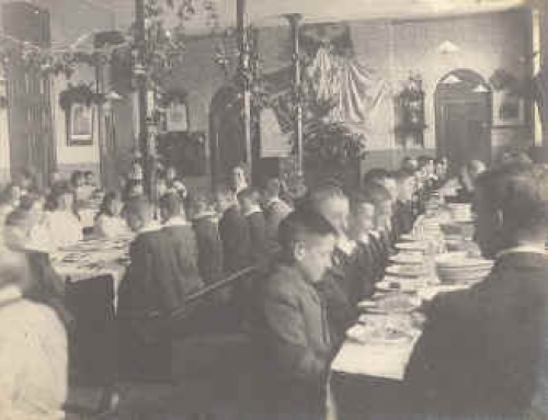 Dining hall peaceday – 1902
