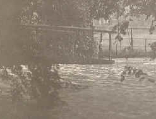 Flood of 1930 – teachers bridge