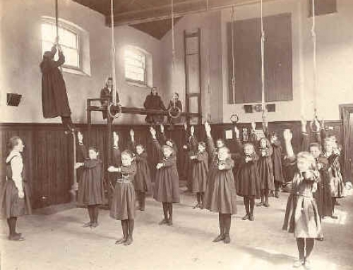 Girls Gym 1903