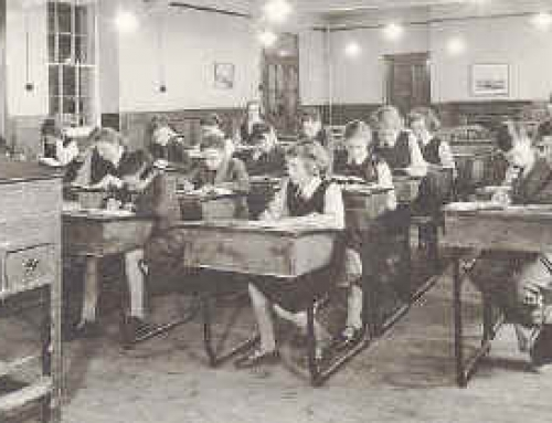 Girls Schoolroom 1954